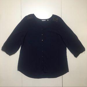 Reitmans blouse blue XL